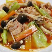 鶏もも肉のキムチスープ煮<カンタン、楽々♪>