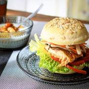お好みにアレンジOK!ジャンク感ゼロの「#手作りハンバーガー」