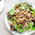 牛肉とクレソンのサラダ -ハニーマスタードソース-(レシピ)