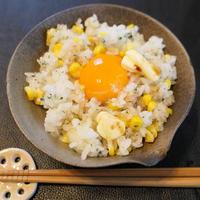 トウモロコシご飯!!
