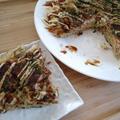 【レシピブログより】秋鮭を食べよう!秋鮭のフワッフワお好み焼き