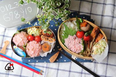 梅雨にぴったり♪ コロンと可愛い♡紫陽花おにぎり(ごはん)弁当