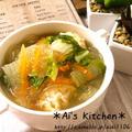 とっても胃に優しい♡鶏団子の春雨スープ♡