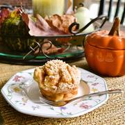 【パンプキン フレンチトーストマフィン~♪】 フレンチトーストを片手で食べられる!?