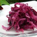 紫キャベツの鮮やかコールスロー