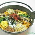 鉄なべで作る~石焼風ビビンバ♪ by ei-recipeさん