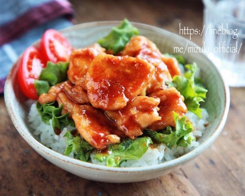 15分でパパッと作れる!ボリューム満点「鶏むね肉丼」5選