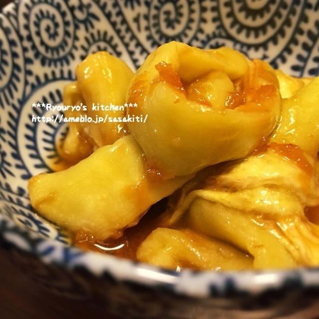 *【レシピ】レンチン茄子の香味だれサラダ*