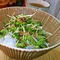 かいわれご飯 ~ 熱々ご飯に、ピリッと辛みが美味しい♪ by mayumiたんさん
