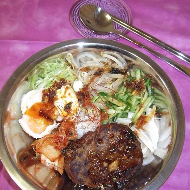 韓国風ロコモコ丼