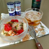 夏にむかってパワーアップ!ビールが美味しい。レンチン簡単バルメニュー ガーリック&チリペパー