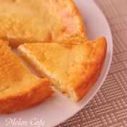 ホットケーキミックスとスライスチーズで作る、超簡単チーズケーキ☆(生クリーム不要)♪