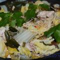 あのCMに影響されて♪<豚肉と白菜ときのこのキムチ蒸し鍋> by はらぺこ準Jun(はーい♪にゃん太のママ改め)さん