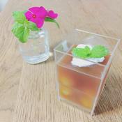 レモングラスの紅茶ゼリー