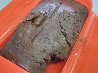 ルクエのスチームケースでココア蒸しパン