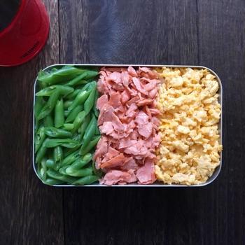 3色弁当 ︎☺︎