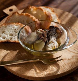 牡蠣のオイル漬け ☆ アンチョビ風味 & ミックススパイス風味