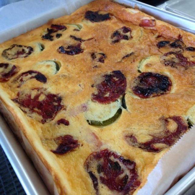 野菜の塩チーズケーキ