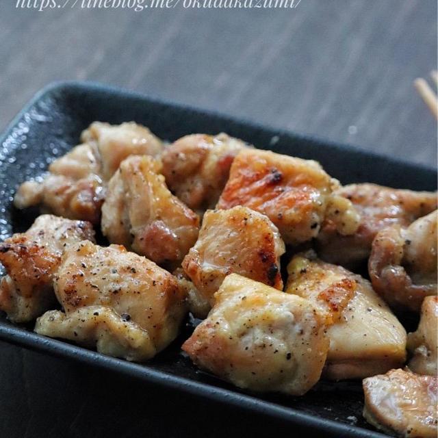 トースターで簡単*ほったらかし【鶏もも肉の塩焼き鳥風】