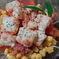 キリ明太とトマトのサラダ by とまとママさん