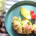 カレーバゲットでオープン卵サンド by 杏さん