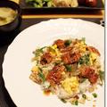 蒸し暑い晩に♪ うなぎのちらし寿司と小糸在来のお味噌汁 by Junko さん