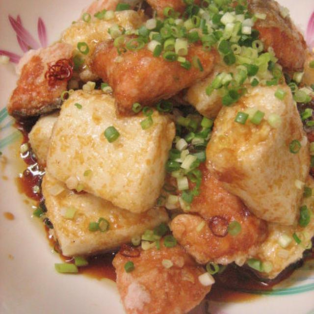 鮭と豆腐のさっぱり揚げ南蛮
