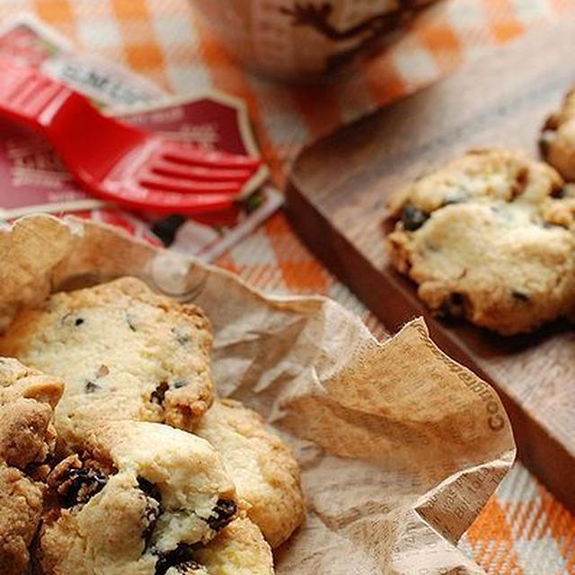 レーズンココナッツ+チョコくるみのドロップクッキー