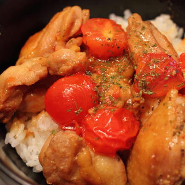 チキンソテー丼