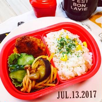 ★お弁当の日10〜1学期ラスト弁当〜☆