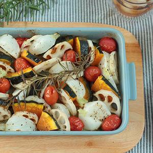 グリラーで作れば簡単&ほったらかしでOK♪「野菜のグリル焼き」2種