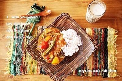 【モニタ】夏野菜とラムの手作りカレー