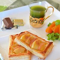 シナモンアップルパイで爽やか朝食♪