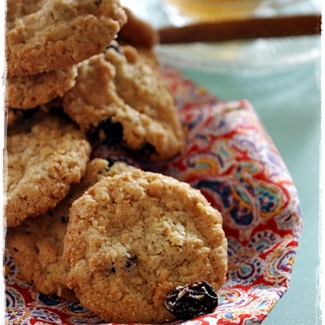 オートミールとレーズンのクッキー