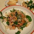 三つ葉とツナ、海老のサラダ ~おかず感覚のボリュームサラダ~