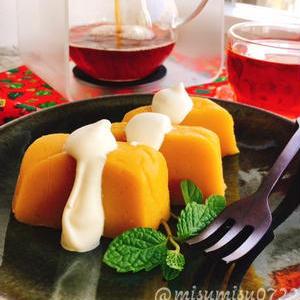 甘みの強い「安納芋」で!意外とお手軽♪「芋ようかん」レシピ