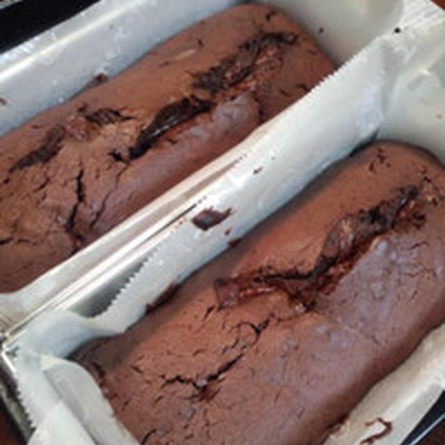 きのうのおやつ  チョコレートケーキ その後