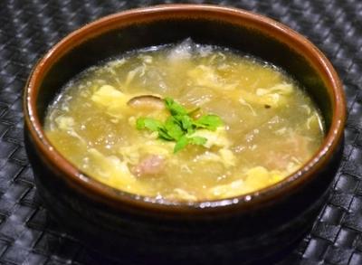 【冬瓜の簡単とろとろスープ】しょうがたっぷり 胃にも優しい!