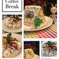 試作品「お菓子の家」作ってみました・・レッスンは三つ編みリングパン