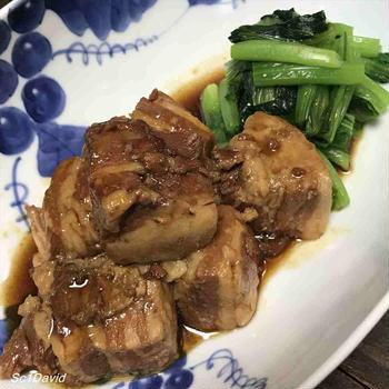 豚角煮・れんこんソテー・菊芋海苔和え・牡蠣オイル煮