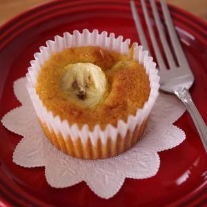 ふ~んわりおいしい♪おやつに作りたい「バナナのカップケーキ」