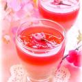 桜のムースゼリー by mariaさん
