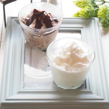 「あさイチ」で話題!ふわふわメレンゲアイスは冷凍卵白で作る