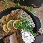 手頃なお肉でも美味しく・・オーブンで簡単!!スパイス利かせてローストポーク・・