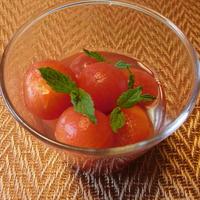 トマトのハニーコンポート