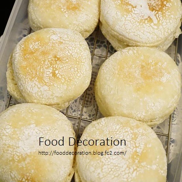 イングリッシュマフィンとエンゼルクリームもどき/English Muffin and Doughnut/ขนมปัง และ โดนัท