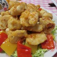 カンタン酢1本で味付け♪ 鶏むね肉でエビマヨ風