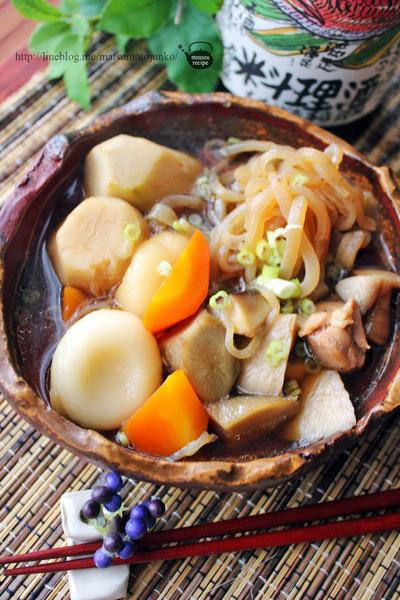 愛媛の秋の味 白玉入り「いもたき」レシピ