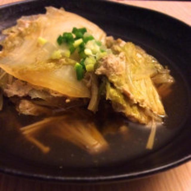 SMAPと安倍さんと【簡単節約】鶏ひき肉の白菜ミルフィーユきのこあんかけ】