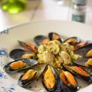 パセリ&オイルでバル風~ムール貝のワイン蒸し